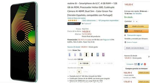 Realme 6i za mniej niż 600 złotych to doskonała oferta na smartfon z najlepszą baterią