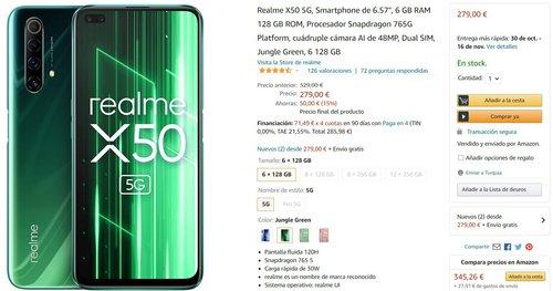 Realme X50 5G za 1280 złotych to wybitnie dobra promocja
