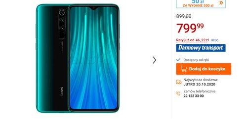 Redmi Note 8 Pro w świetnej promocji prosto z Polski