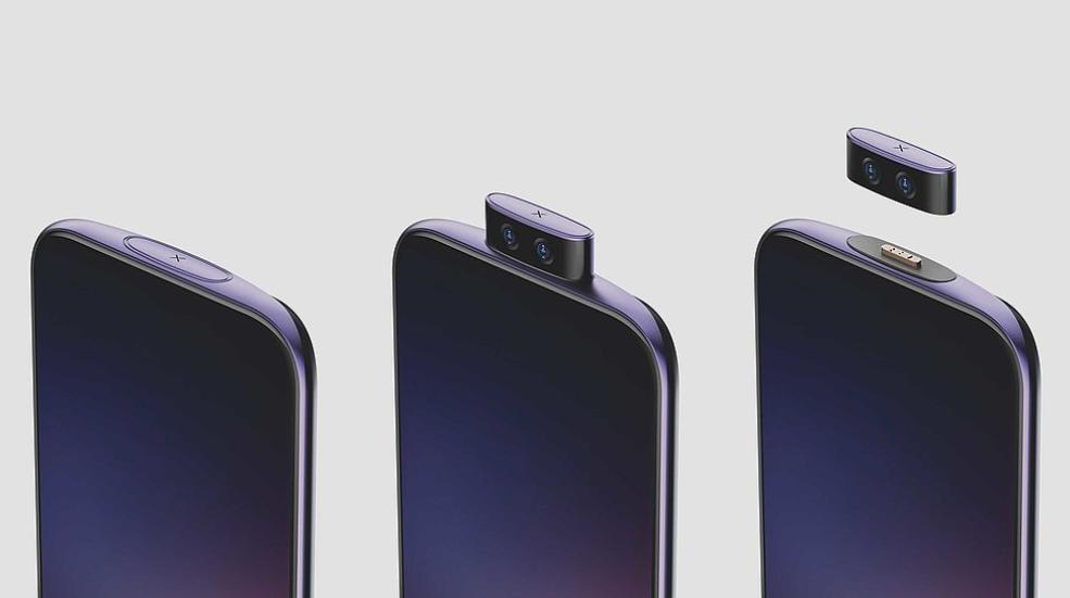 Koncept smartfonu Vivo z odczepianym aparatem/fot. Vivo