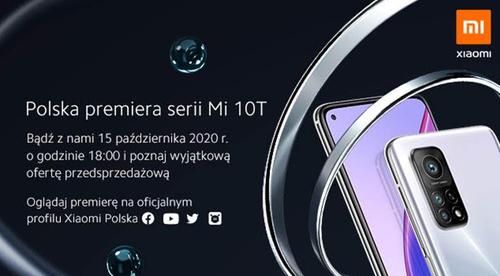 Серия Xiaomi Mi 10T дебютирует в Польше 15 октября / фото. Xiaomi