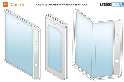 Складной смартфон от Xiaomi, которым может быть Mi Mix 4 / фото. LetsGoDigital