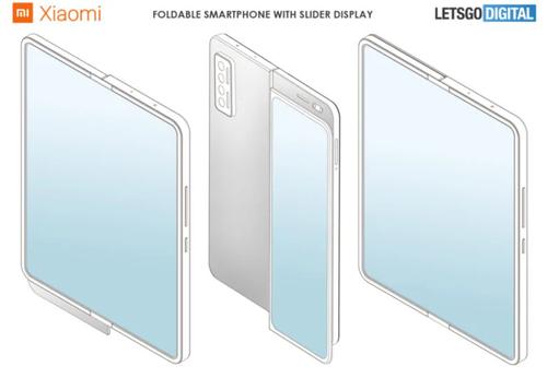 Składany smartfon Xiaomi z dodatkowym sliderem to prawdziwe szaleństwo/fot. LetsGoDigital