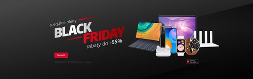 Black Friday z Huawei