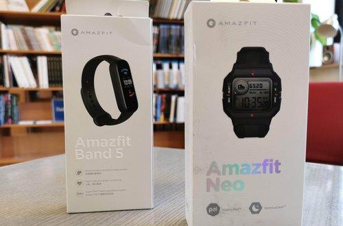 Amazfit Neo i Band, Amazfit Band ;) / fot. techManiaK