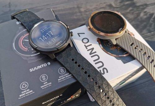 Suunto 9 Baro Titanum vs Suunto 7 / fot. techManiaK