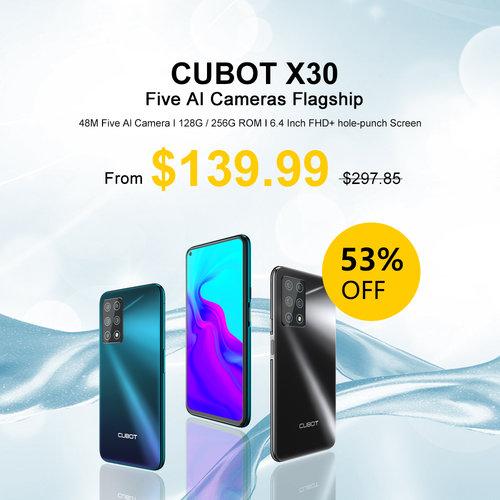 Promocja Cubot z okazji Dnia Singla 2020 - cena Cubot X30