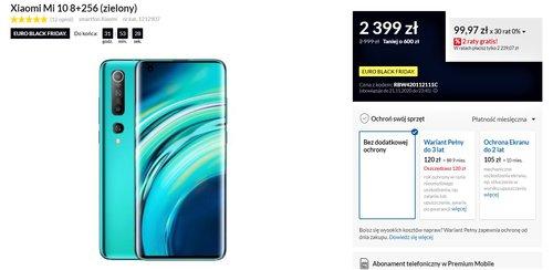 Promocyjna cena Xiaomi Mi 10 w RTV Euro AGD