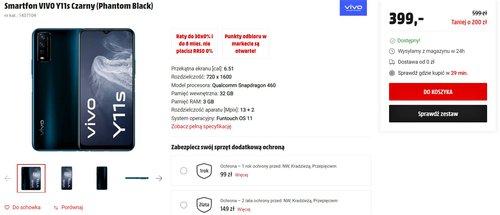 Promocyjna cena Vivo Y11s (m.in. w MediaMarkt)