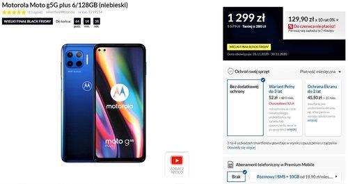 Motorola Moto G 5G Plus w promocji RTV Euro AGD