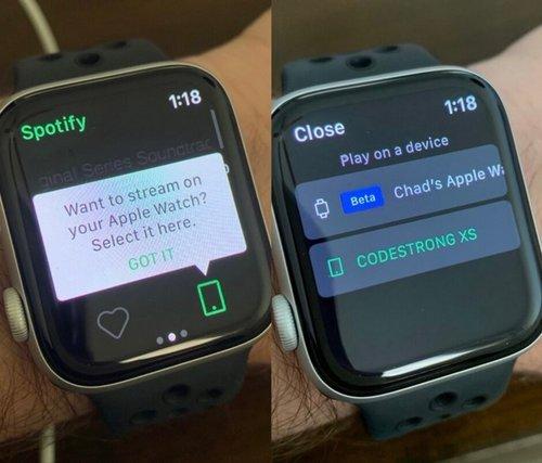 Apple Watch Spotify/ fot. phonearena