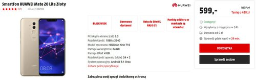 Huawei Mate 20 Lite za 599 złotych to nadal dobry smartfon