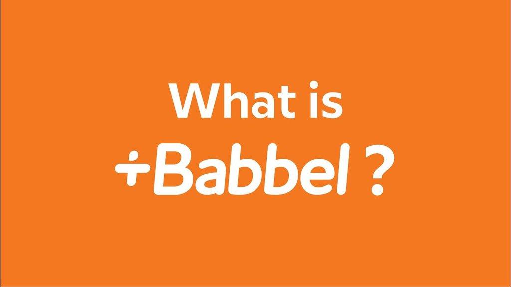 Babbel/ fot. Babbel