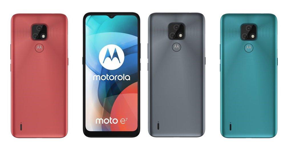Motorola Moto E7/ fot. producenta