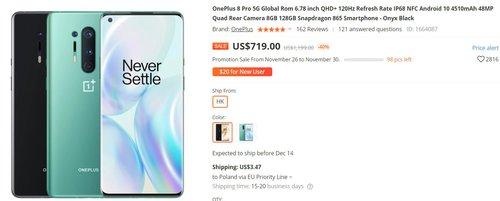 OnePlus 8 Pro za 2620 złotych to kapitalny flagowiec