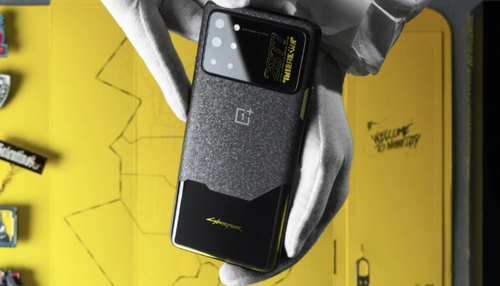 OnePlus 8T x Cyberpunk 2077/fot. OnePlus