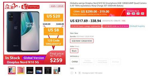 OnePlus Nord N10 5G za tysiąc złotych to niesamowicie opłacalny smartfon
