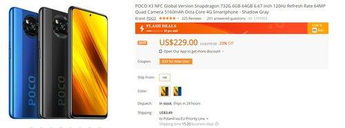 POCO X3 NFC może być Twój już za 900 złotych!
