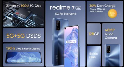 Realme 7 5G/fot. Realme