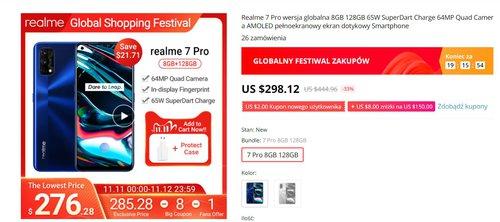 Realme 7 Pro w promocji AliExpress ma niesamowcie dobrą cenę