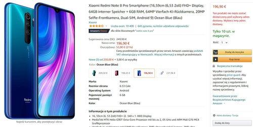 Redmi Note 8 Pro w promocji za 700 złotych to kapitalny średniak
