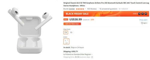 Xiaomi AirDots 2SE w fajnej cenie