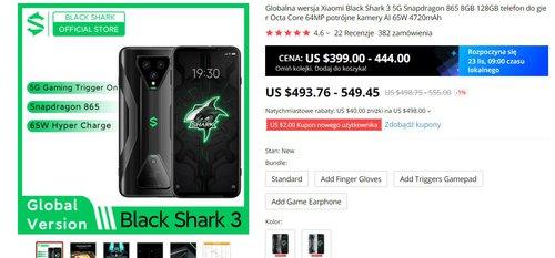 xiaomi black shark promocja 1