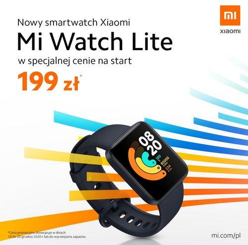 Promocyjna promocja na Xiaomi Mi Watch Lite w Polsce
