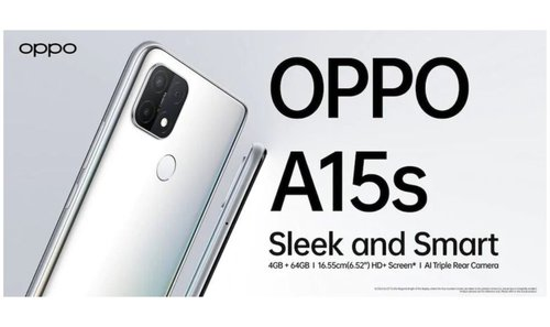 OPPO A15s/ fot. producenta