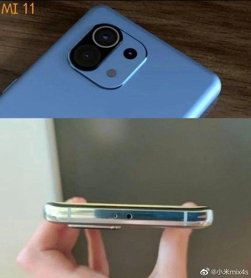 Tak ma wyglądać Xiaomi Mi 11 / fot. Weibo via GizmoChina