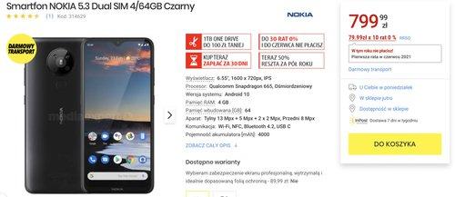 Nokia 5.3 w Media Expert