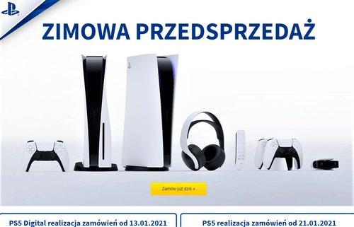 Zimowa przedsprzedaż PS5 w Media Expert
