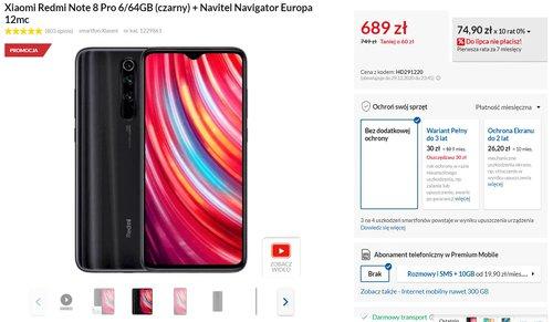 Promocyjna cena Redmi Note 8 Pro w RTV Euro AGD