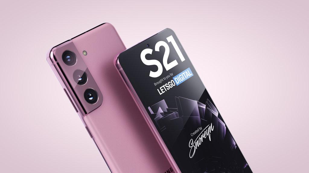 Samsung Galaxy S21 / fot. LetsGoDigital i Snoreyn