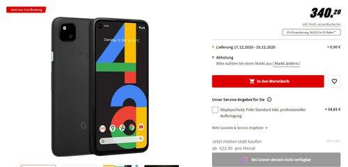 Google Pixel 4a w dobrej cenie z niemieckiego MediaMarkt