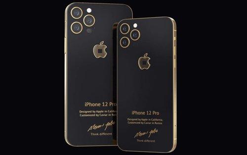 iPhone 12 Pro w specjalnej edycji Steve Jobs/fot. Caviar