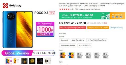 POCO X3 NFC po raz pierwszy w promocji za mniej niż 800 złotych