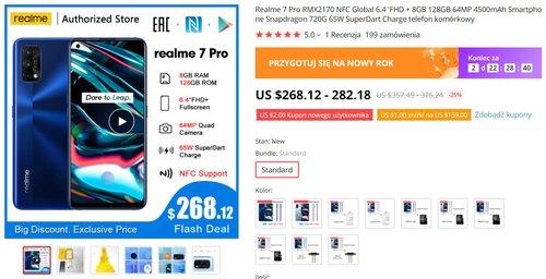 Realme 7 Pro za mniej niż 1000 złotych to świetna okazja na zakup wydajnego smartfona