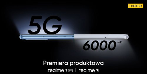 Polska premiera Realme 7 5G i Realme 7i odbędzie się 10 grudnia