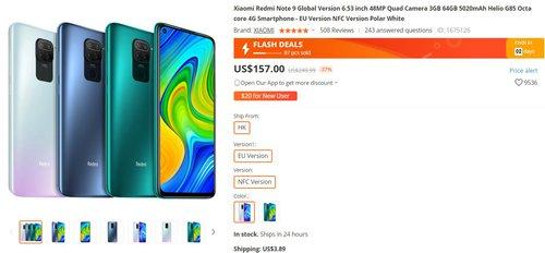 Redmi Note 9 w promocji za 570 złotych to świetny zakup w budżetowej półce