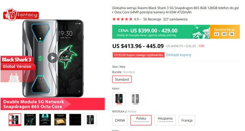 One of the most economical Xiaomi for PLN 1470 in promotion