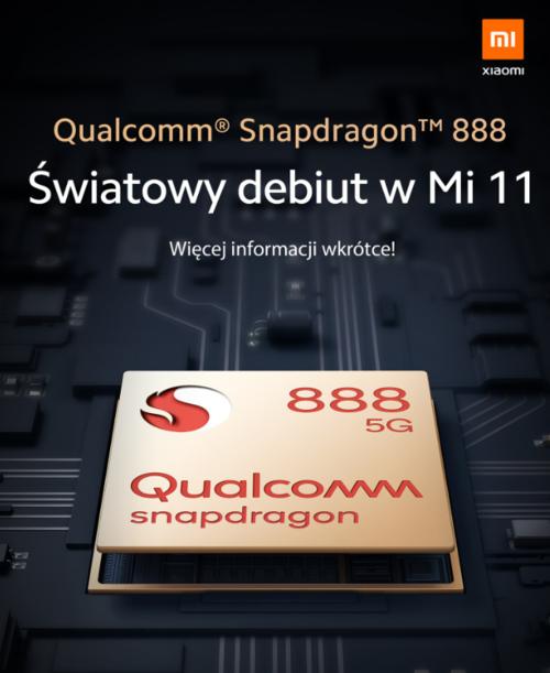 Xiaomi Snapdragon 888/ fot. Xiaomi