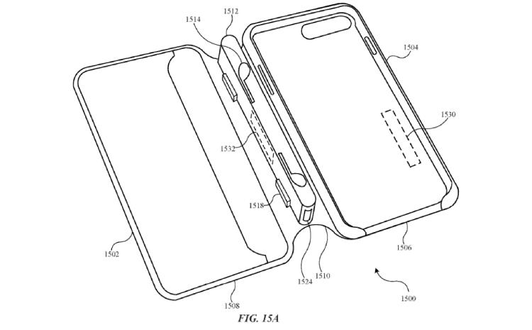 Patent Apple etui ładujące/ fot. Patently Apple