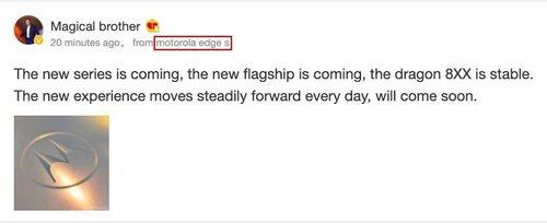 Motorola Edge S zapowiedź/ fot. MySmartPrice