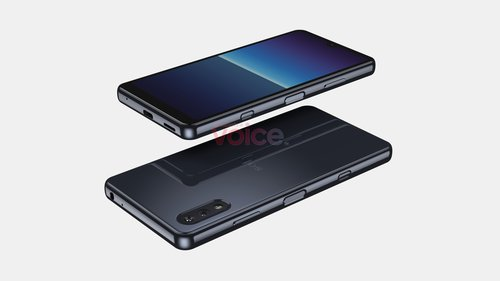 Sony Xperia Compact 2021 / fot. OnLeaks na Voice