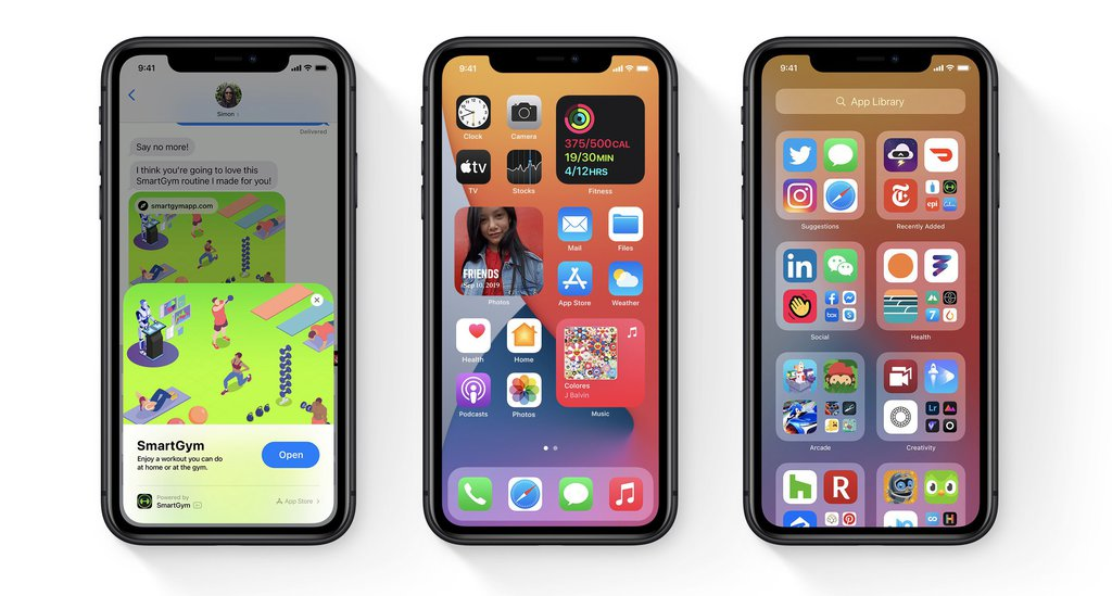 iOS 14 / fot. Apple