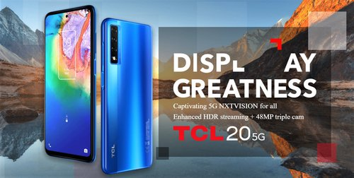 TCL 20 5G / fot. producenta