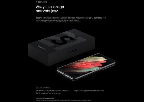 To znajdziesz w pudełku z Galaxy S21 (Ultra) / fot. producenta