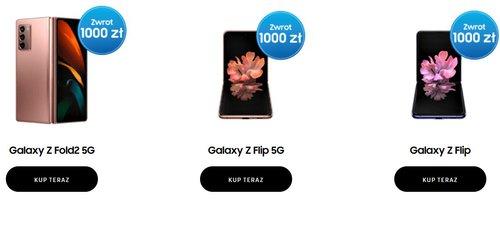 Samsung Premia na smartfony Galaxy Z