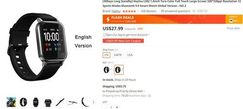 Xiaomo Haylou LS02 znowu pojawił się w dobrej cenie